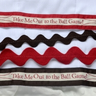 BASEBALL Burp Cloth Bundle | TinyStitches.etsy.com